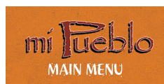 main menu mi Pueblo Mexican food in Sarasota